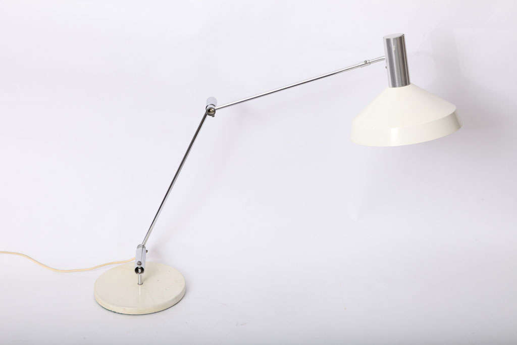 A rare, 1950s articulated table lamp, by Rico & Rosemary Baltensweller.