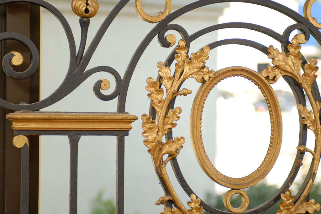 Exceptional French Interior Gate At 1stdibs