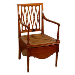 Chamber Potty Arm Chair