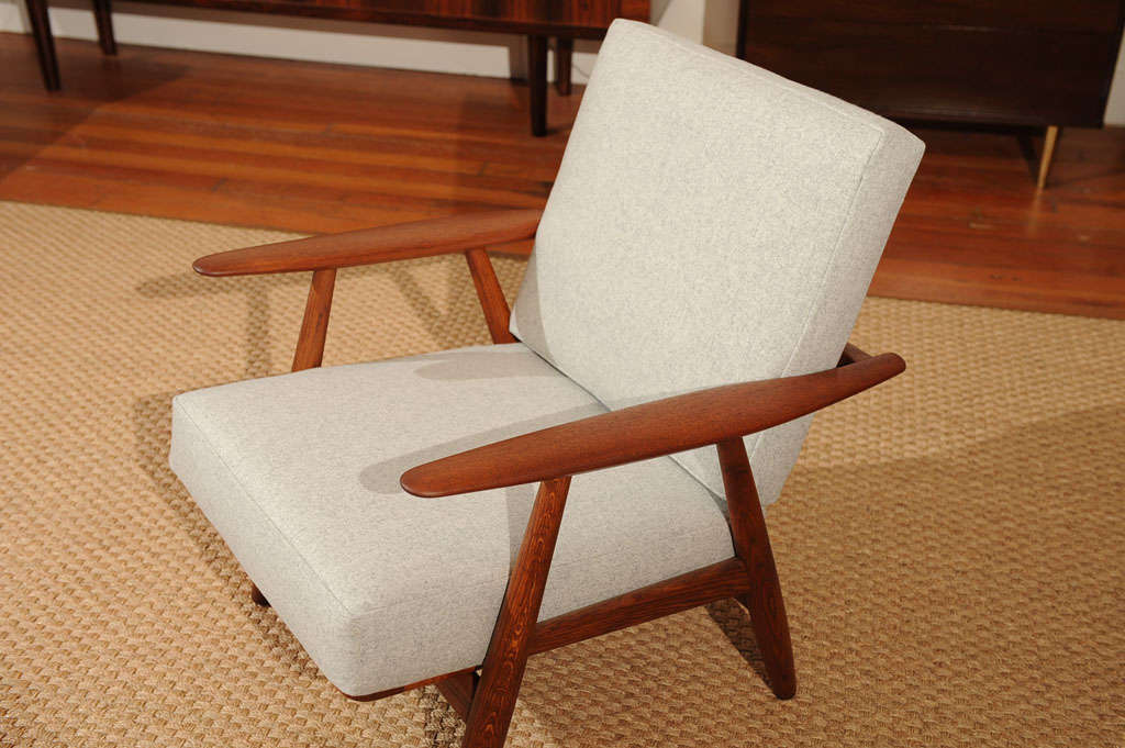 Hans Wegner Cigar Chair In Excellent Condition In San Francisco, CA