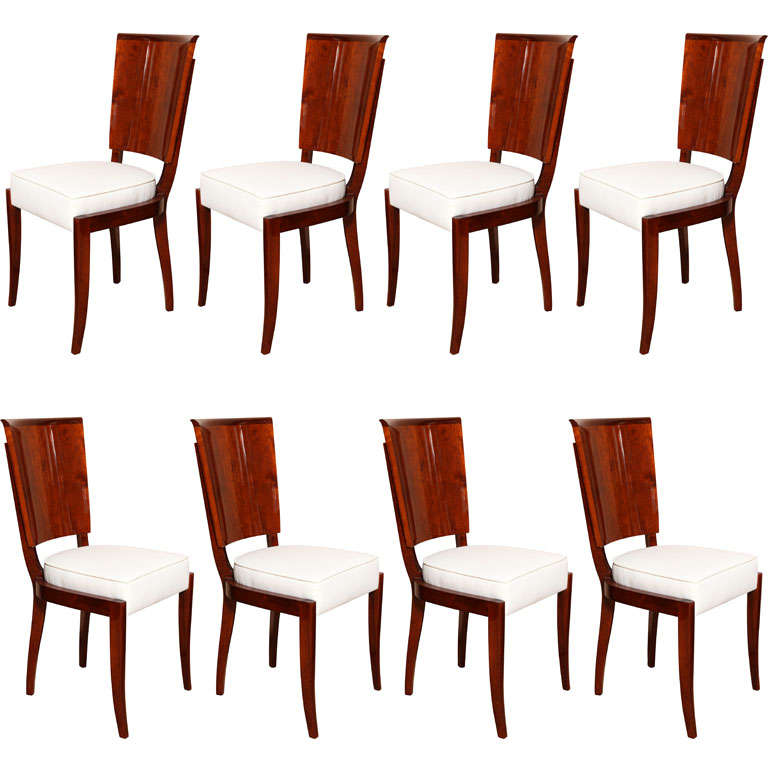 Suite Of 4 Dining Chairs And 2 Host Hostess Arm Dining
