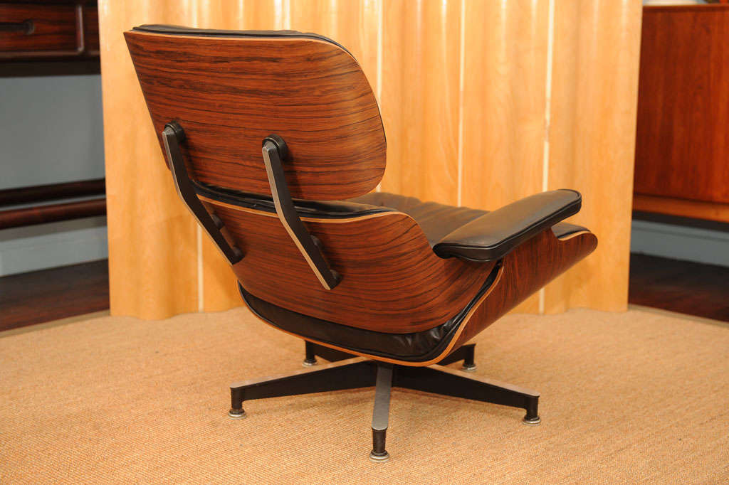 original eames lounge chair and ottoman at 1stdibs