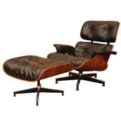 Original Eames Lounge Chair and Ottoman