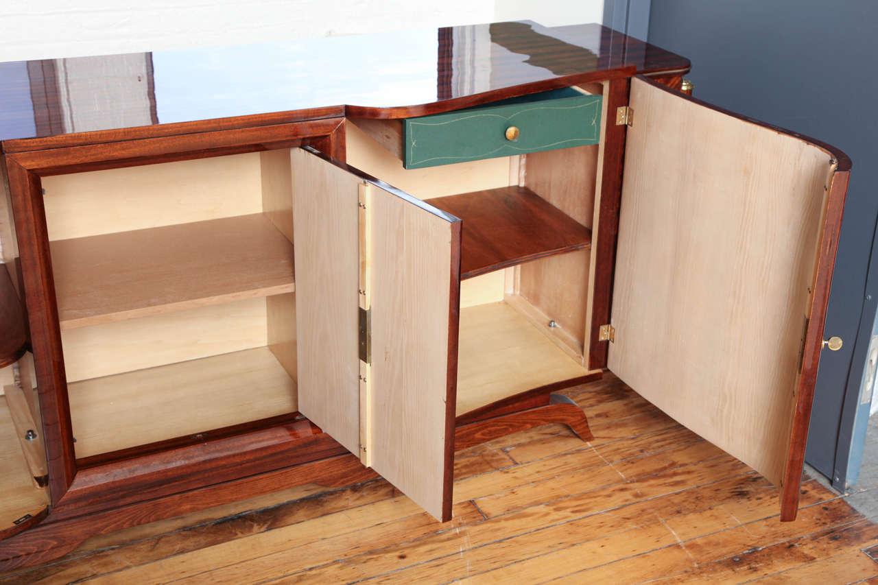 Unique Design Art Deco Sideboard or Bar 6