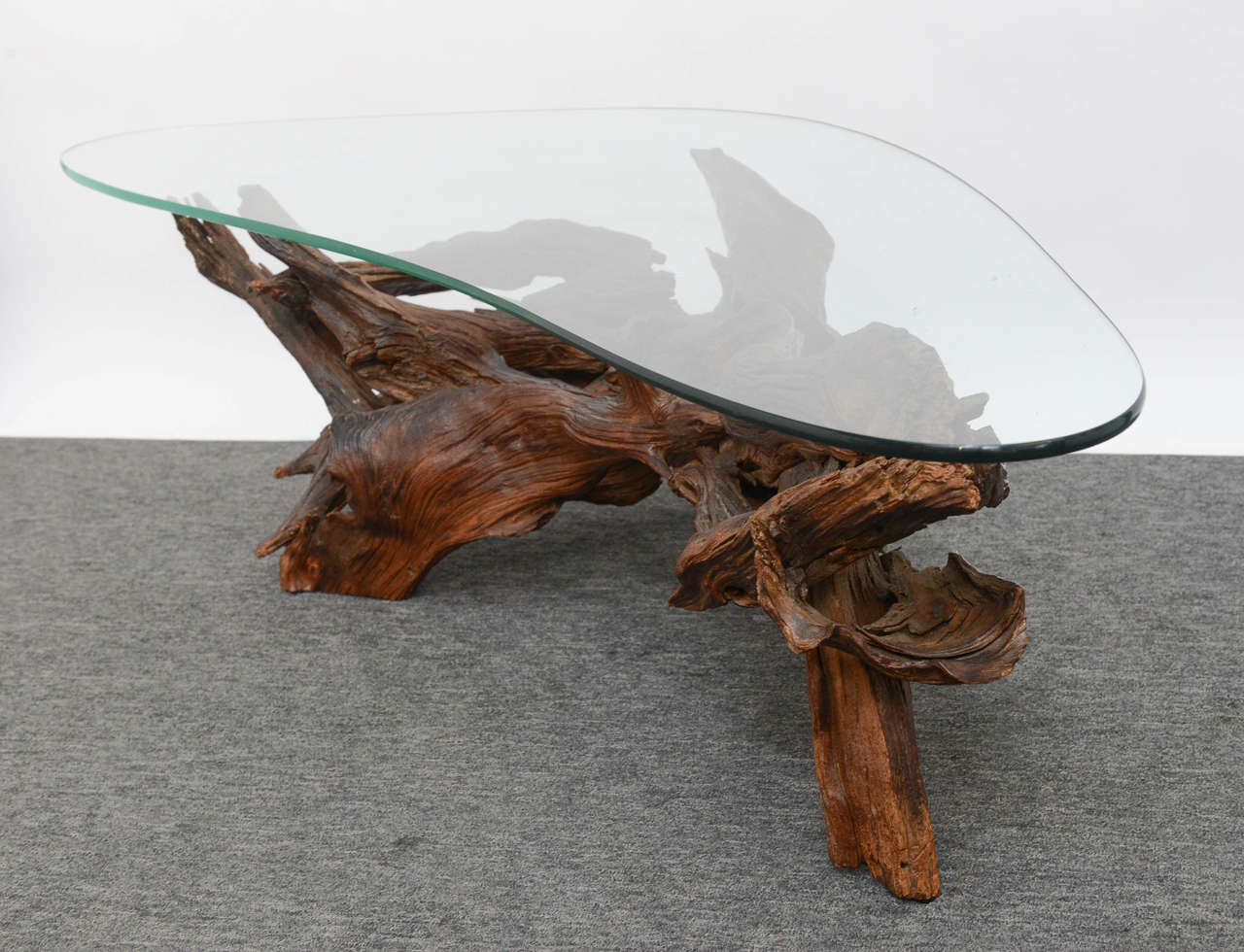 vintage wine tree coffee table for sale at 1stdibs