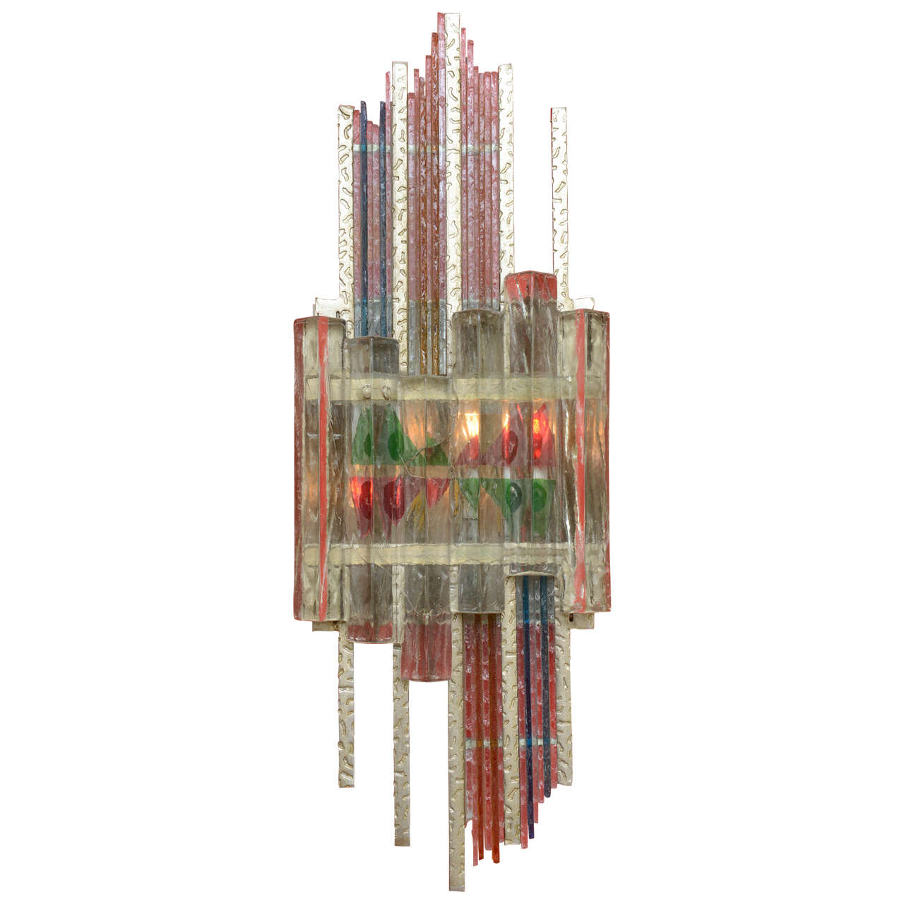 Mid-Century Modern Wall Sculpture in the Style of Poliarte