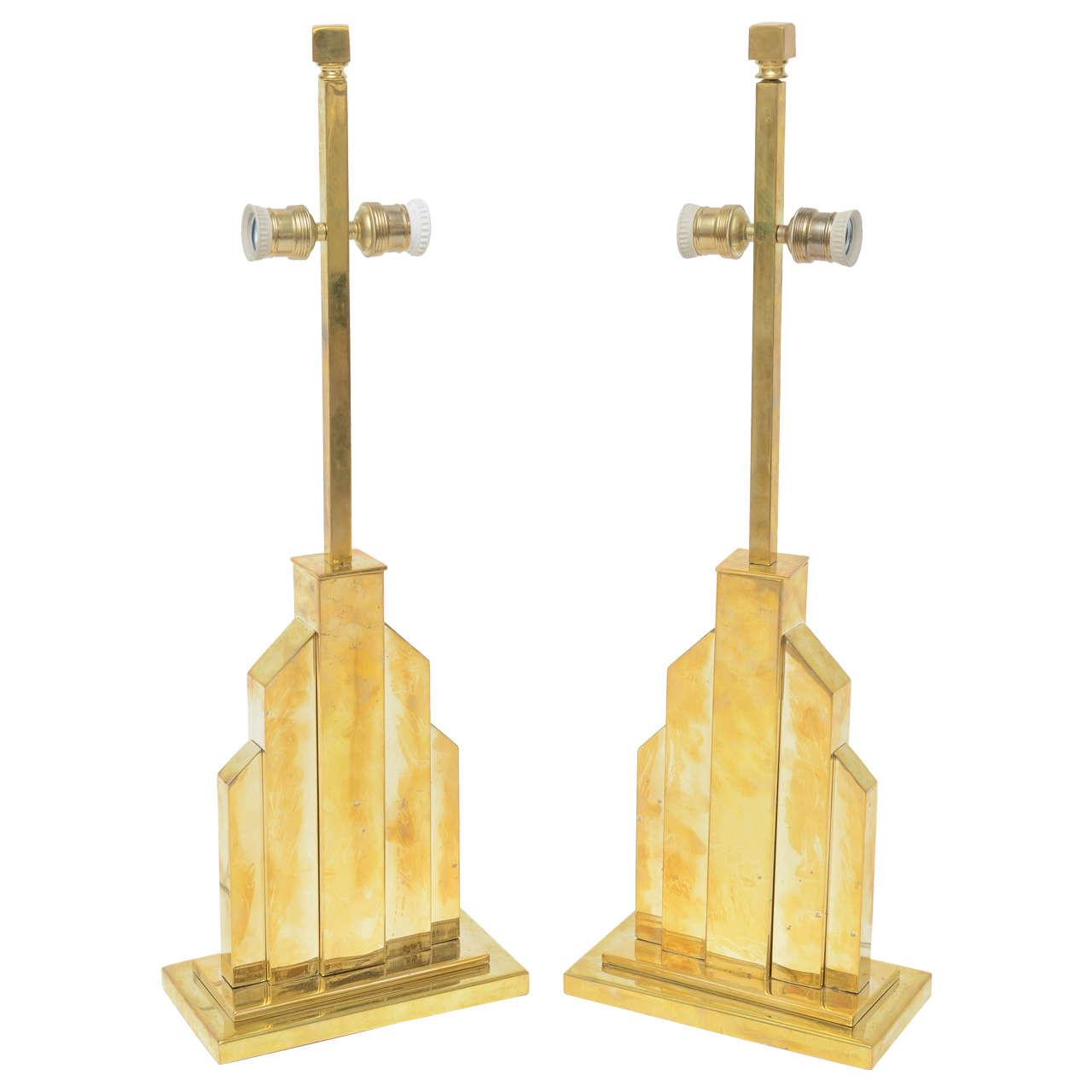Fine Pair of Romeo Rega Table Lamps