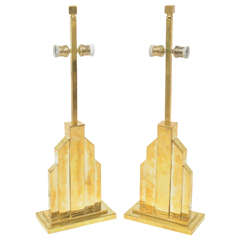 Fine Pair of Romeo Rega Table Lamps