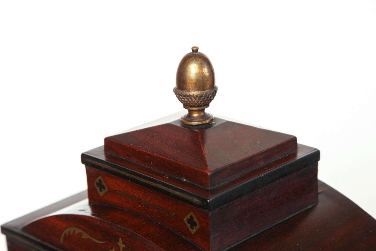 19th Century English Regency Bracket Clock For Sale 1