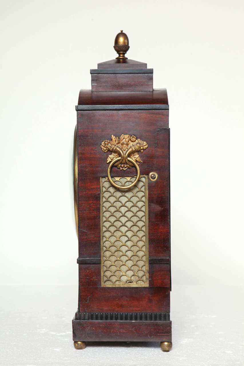 19th Century English Regency Bracket Clock For Sale 2