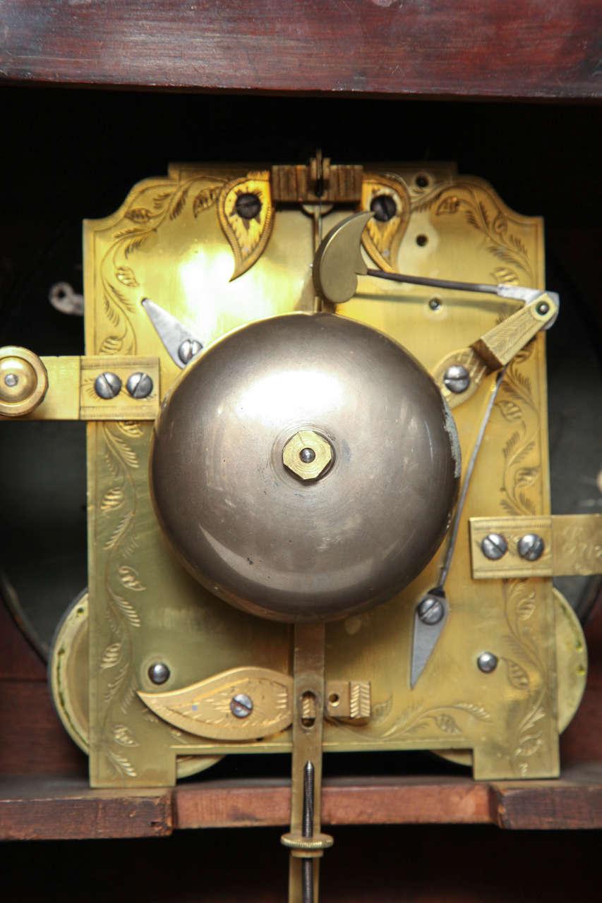 19th Century English Regency Bracket Clock For Sale 5