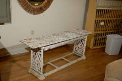 French Cast Iron Bench c.1900 image 10