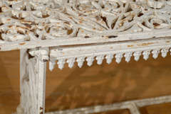 French Cast Iron Bench c.1900 image 7