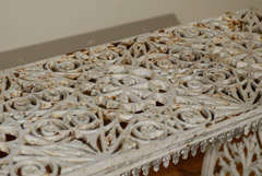 French Cast Iron Bench c.1900 image 8