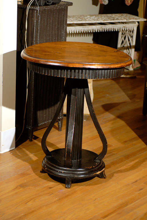 Early 20th c english arts and crafts style table at 1stdibs for Arts and crafts style table