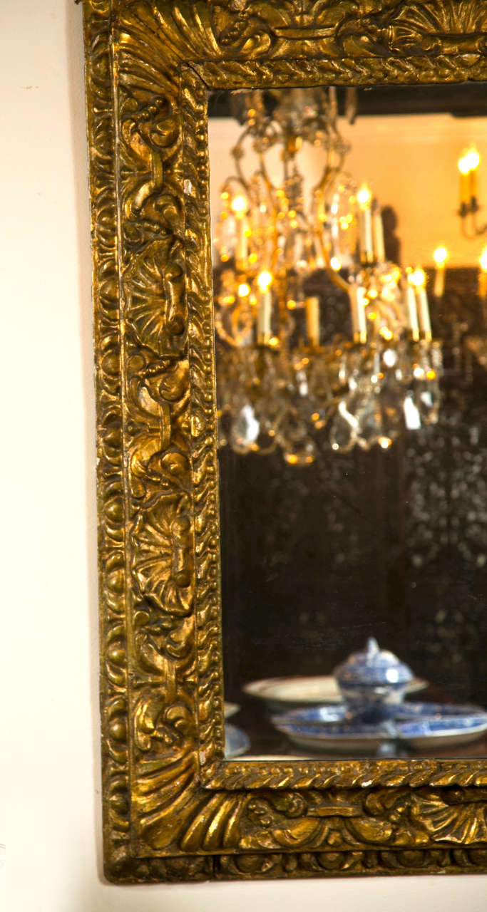 Italian baroque mirror for sale at 1stdibs for Italian baroque mirror