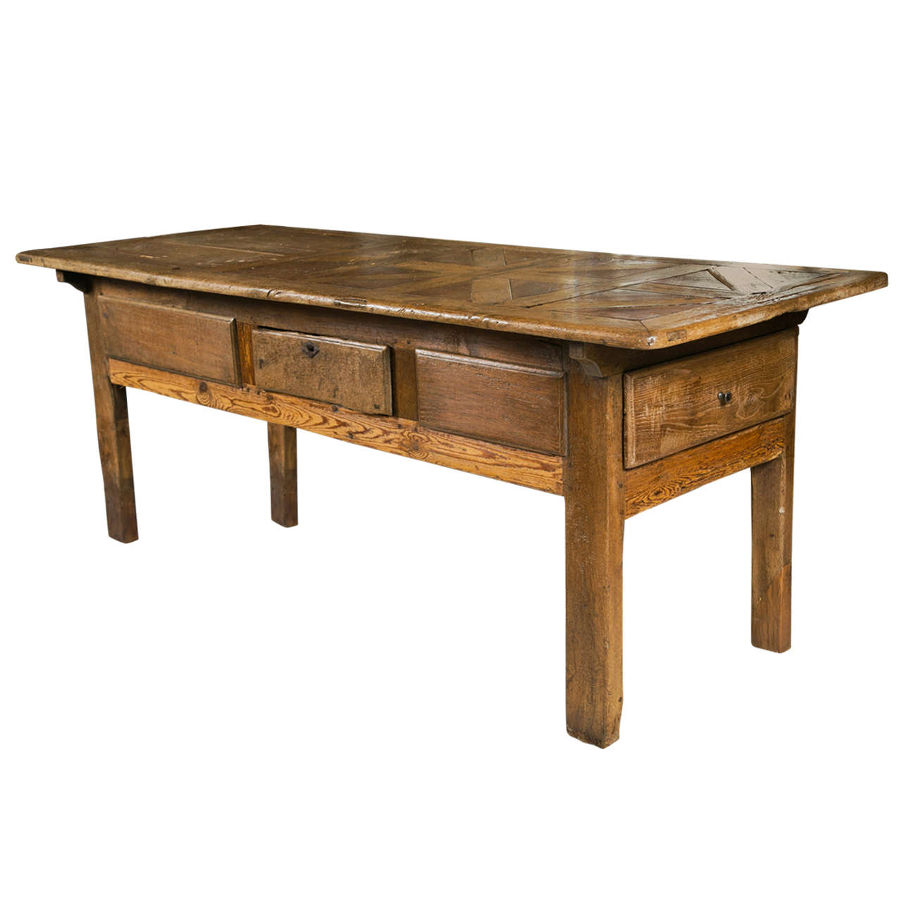 18th C French Farm Table 1
