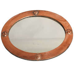 Liberty of London Hammered Copper Mirror