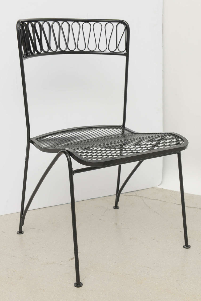 Tempestini For Salterini Patio Dining Set At 1stdibs