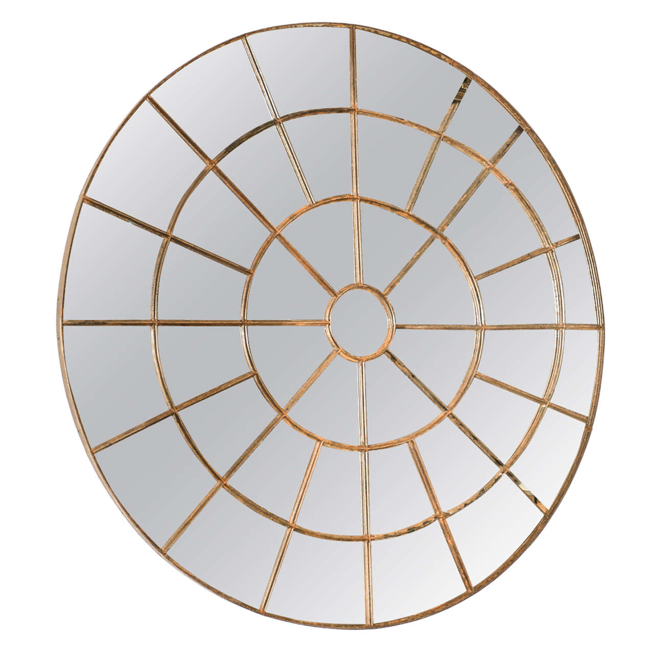 Large round mirror made of an early 20th century cast iron for Large round mirrors for sale
