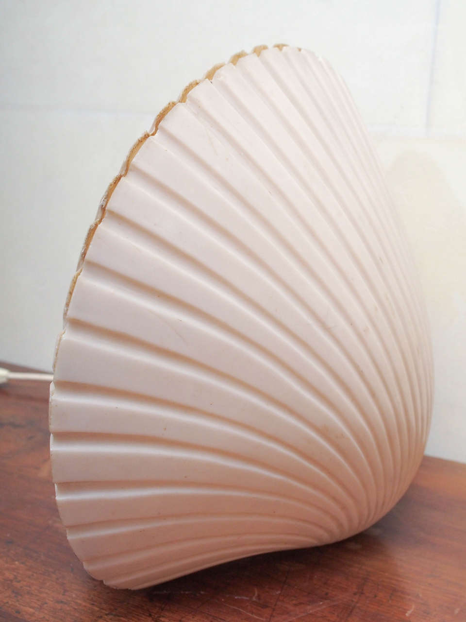 pair of 1960s fibre de verre shell shaped ls for sale at 1stdibs
