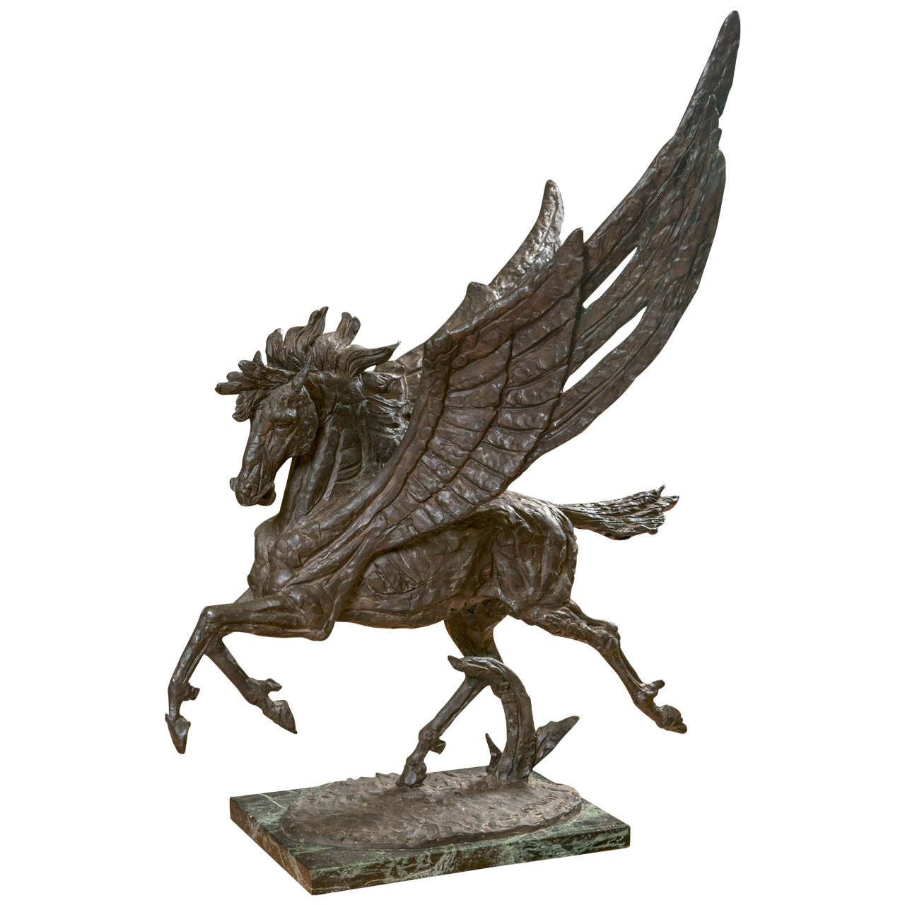 Bronze Pegasus Statue by Laszlo Ispanky at 1stdibs