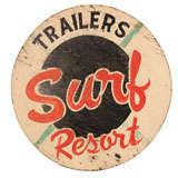1950s Seaside Resort Sign