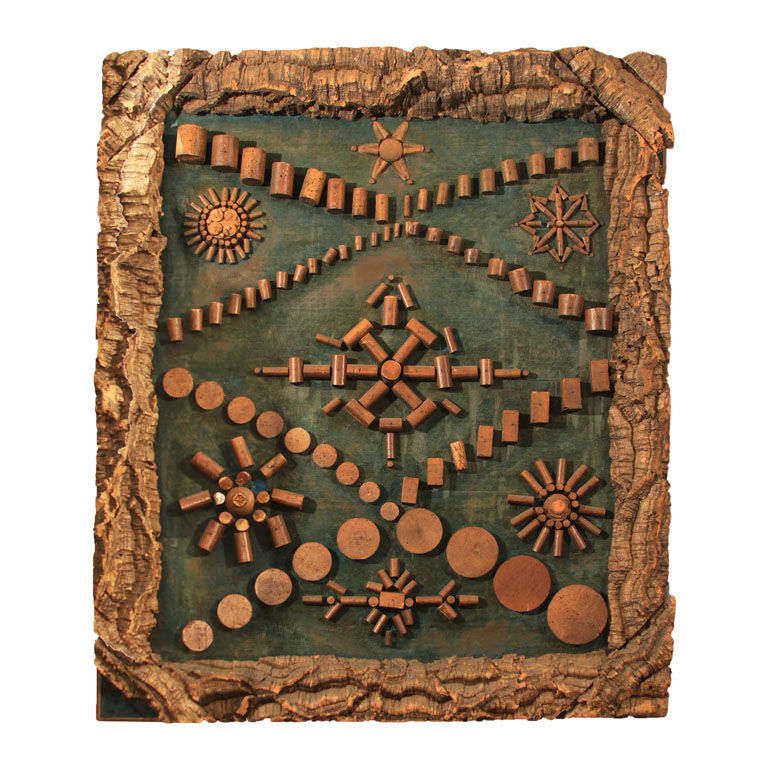 Folk Art Cork Collection 1