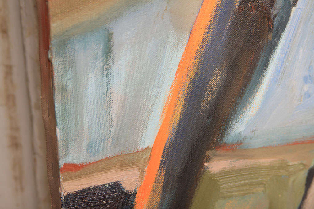 Modernist Nude Oil Painting For Sale 5