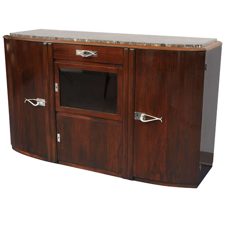 Art Deco French Sideboard in Mahogany