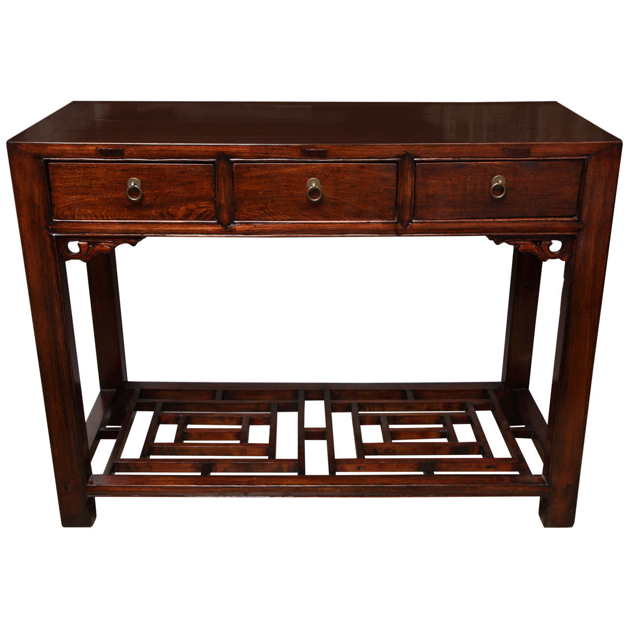 Amazing photo of Three Drawer Table/Desk For Sale at 1stdibs with #A84B23 color and 1280x1280 pixels