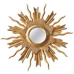 French Sunburst Mirror