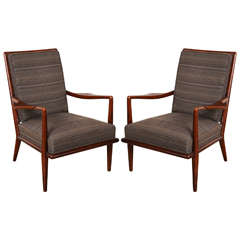 Pair of T. H. Robsjohn-Gibbings Armchairs