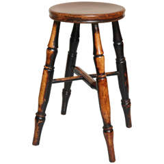 Country Stool with Wonderful Surface