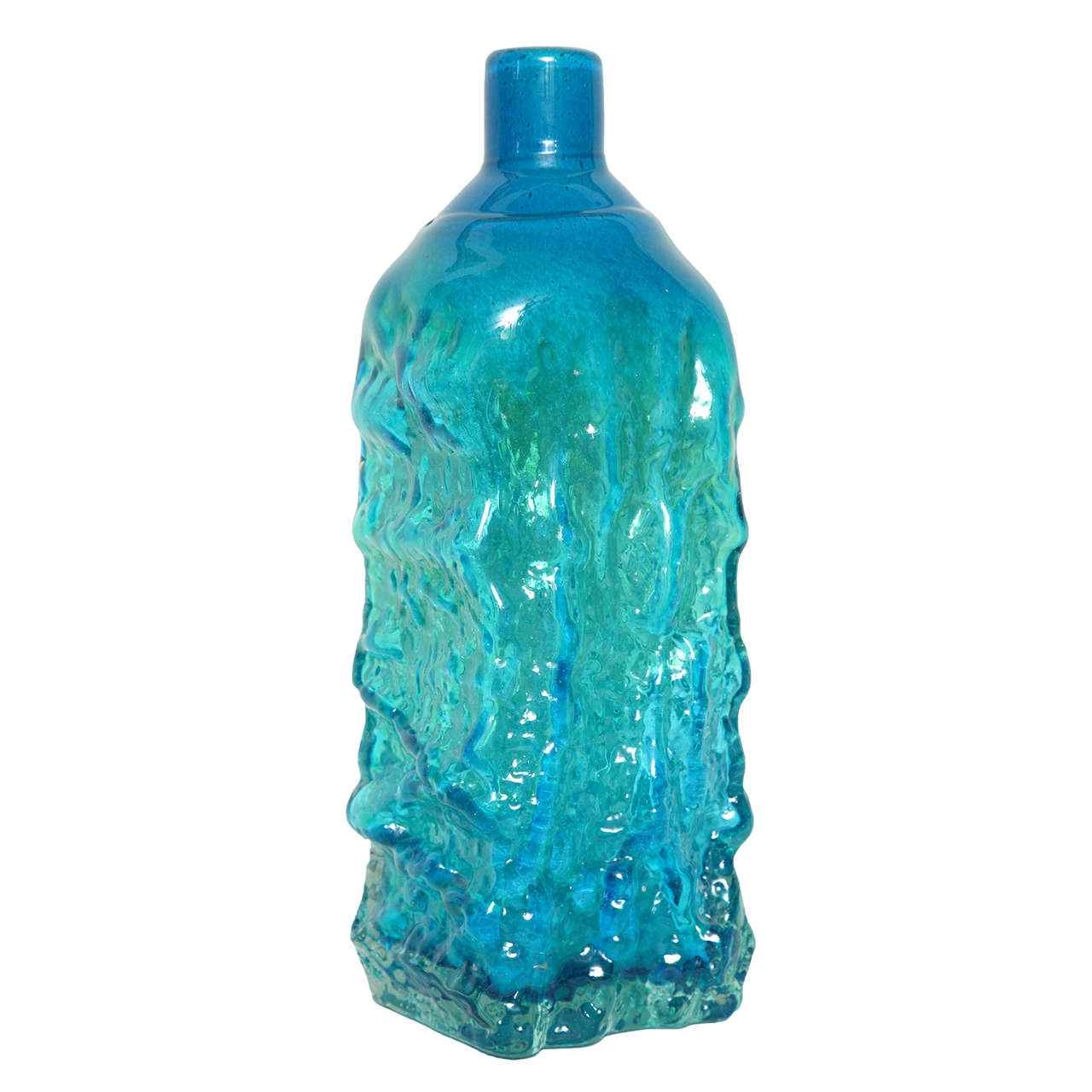 Studio glass bottle vase designed by michael harris at 1stdibs studio glass bottle vase designed by michael harris for sale reviewsmspy