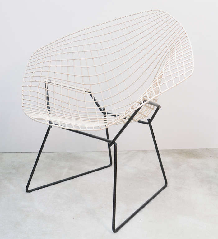 American Harry Bertoia | Knoll, Pair Of Vintage Diamond Chairs For Sale