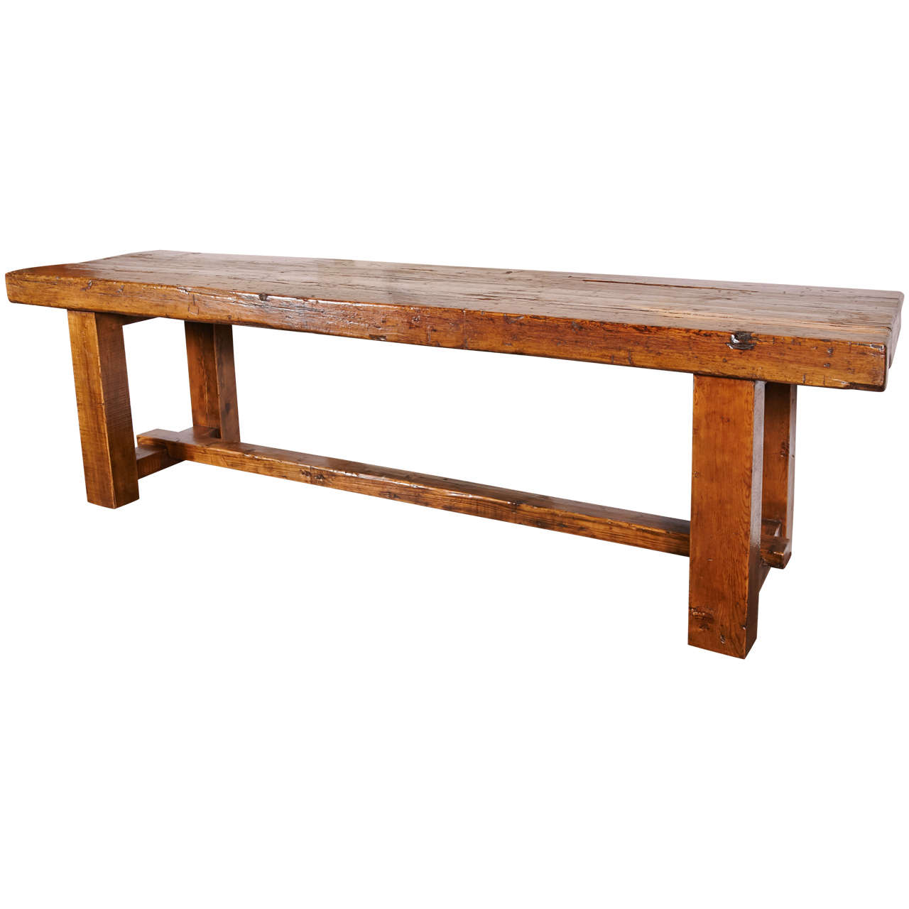Massive Elm Console at 1stdibs : X from www.1stdibs.com size 1280 x 1280 jpeg 69kB
