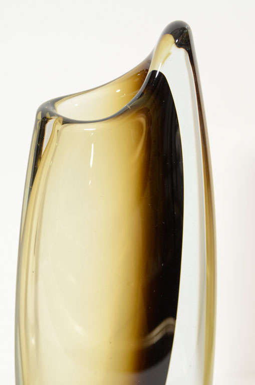Hand-Crafted Vases by Strombergshyttan, Sweden, circa 1950 For Sale