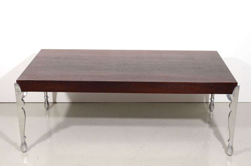 Pucci de rossi wenge wood coffee table for sale at 1stdibs Wenge coffee tables