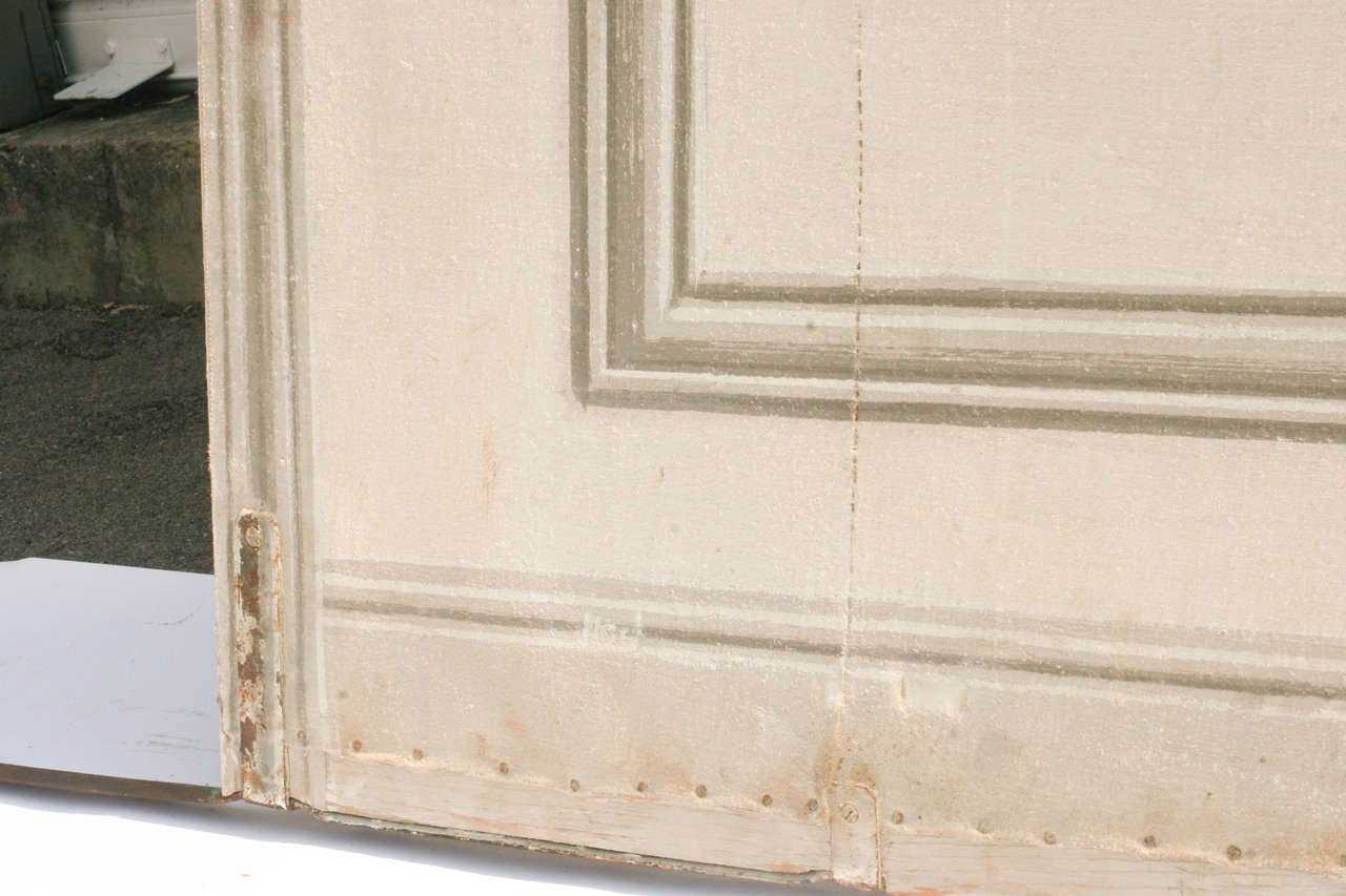French Painted Canvas Theater Backdrop from Chateau de Groussay For Sale 6