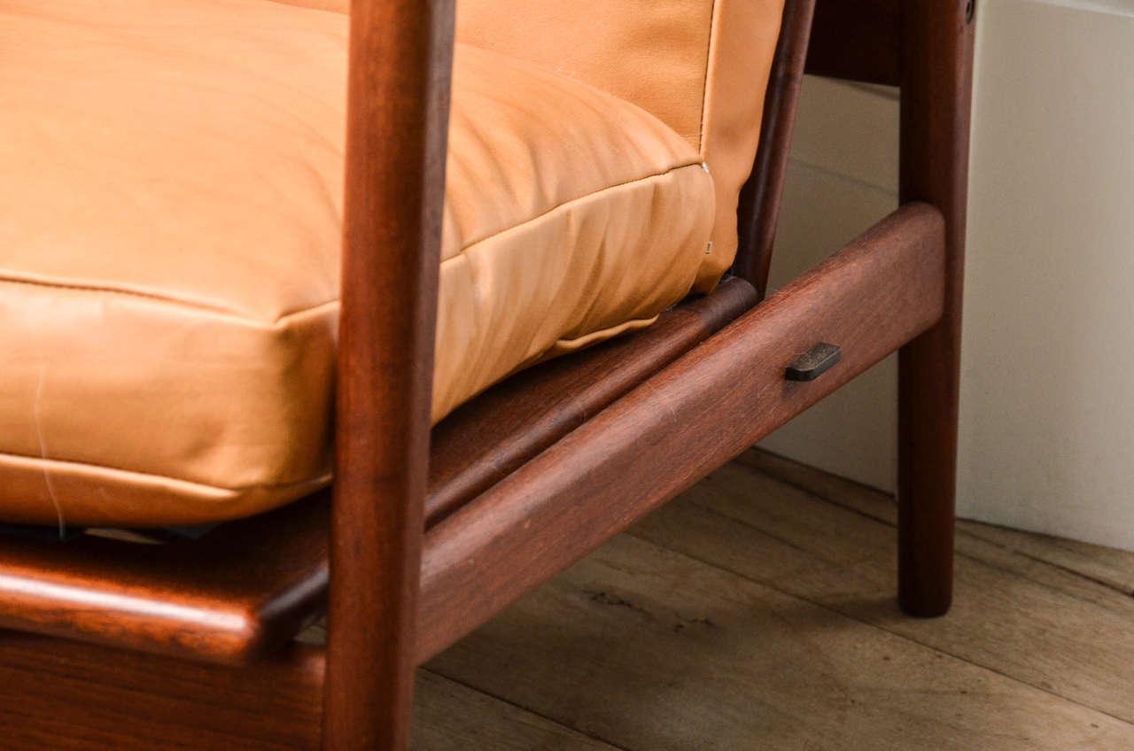 Mid-Century Modern Midcentury Scandinavian Lounge Chair For Sale