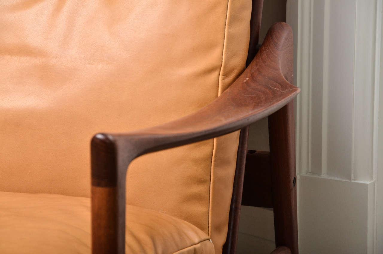 Danish Midcentury Scandinavian Lounge Chair For Sale