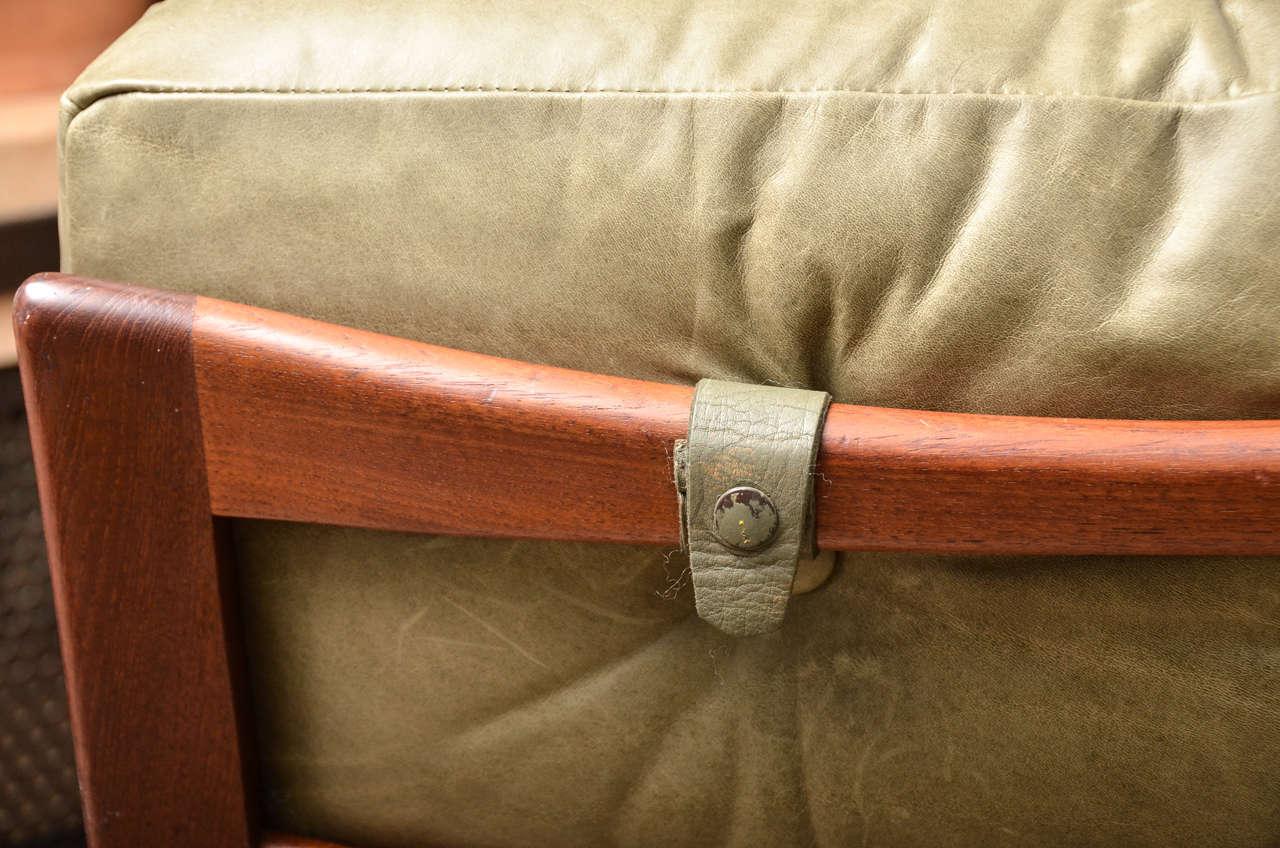 Midcentury Scandinavian Lounge Chair For Sale 1