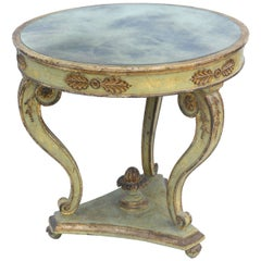Painted and Parcel Gilt Classical-form Italian Table
