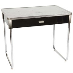 Iconic Art Deco or Machine Age Smartline Kitchen Table by Raymond Patten