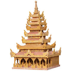 Miniature Thai Temple