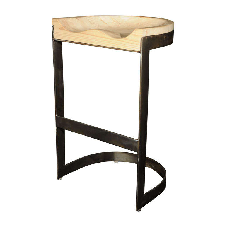 Mid Century Bar Stool at 1stdibs : x from www.1stdibs.com size 768 x 768 jpeg 24kB
