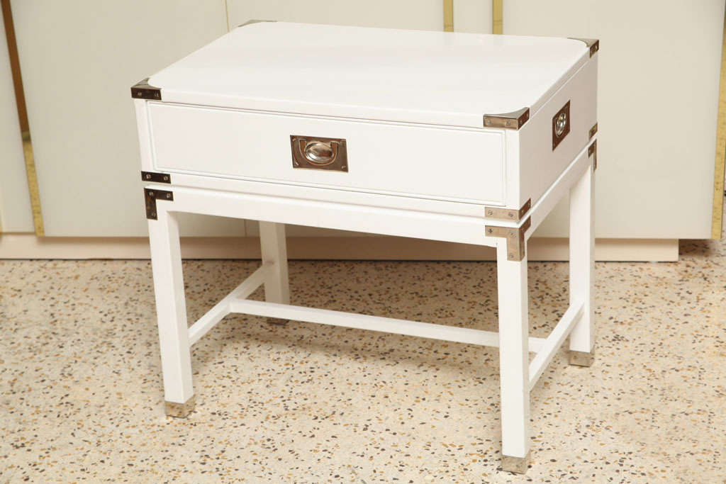Campaign Style End Tables/Night Stands 2
