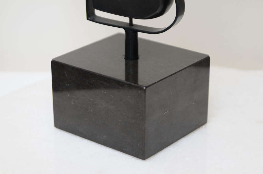 Fantastic Solid Bronze Signed Picasso Inspired Table Sculpture 6