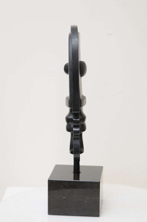 Fantastic Solid Bronze Signed Picasso Inspired Table Sculpture 7